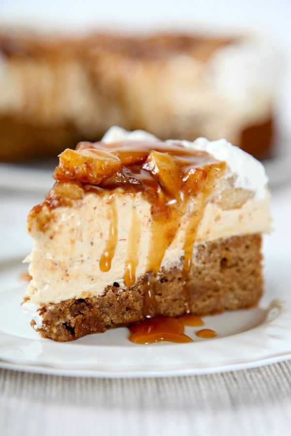 ghostly gourmet, caramel apple cheesecake -wilcox